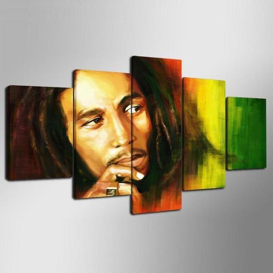 Bob Marley Canvas Wall Art Prints