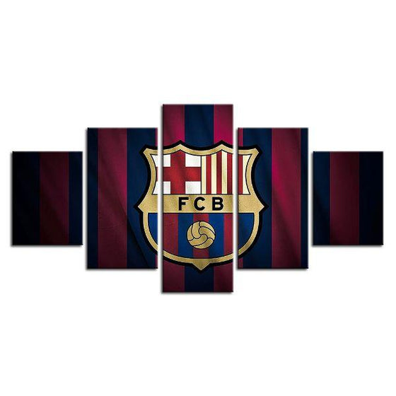 FC Barcelona Canvas Wall Art