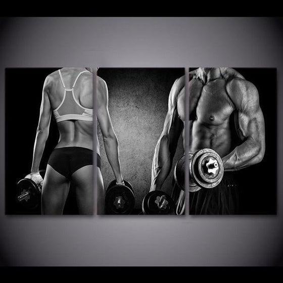 Fitspiration Wall Art Canvas