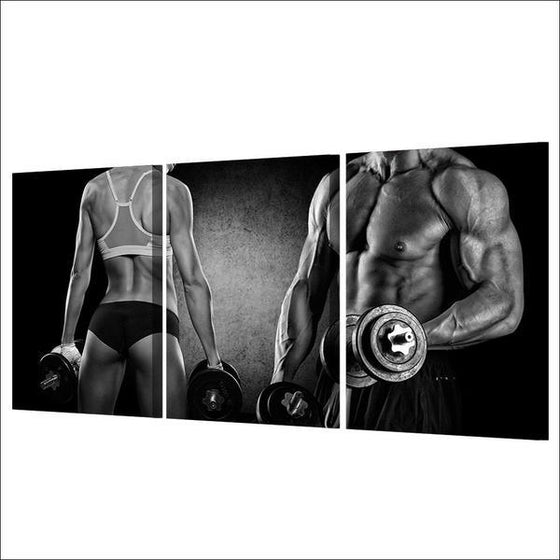 Fitspiration Wall Art Decor