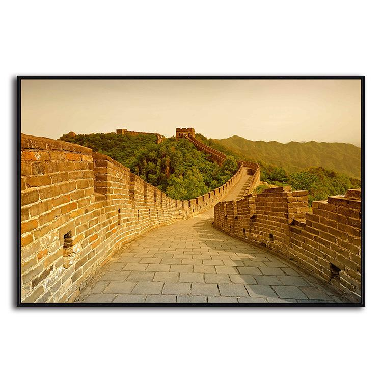 Shop Great Wall Of China 1 Panel Canvas Wall Art – canvasx.net