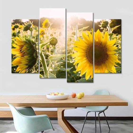 Flowers Canvas Wall Art Print