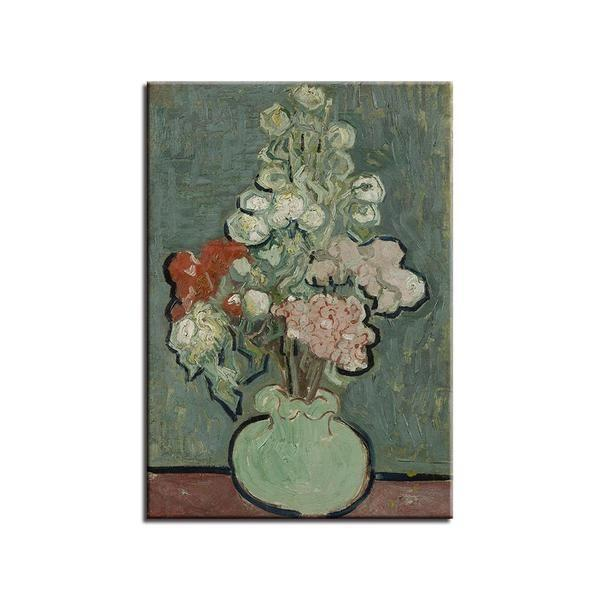 Vase Of Flowers By Vincent Van Gogh Canvas Wall Art | Canvas Print ...