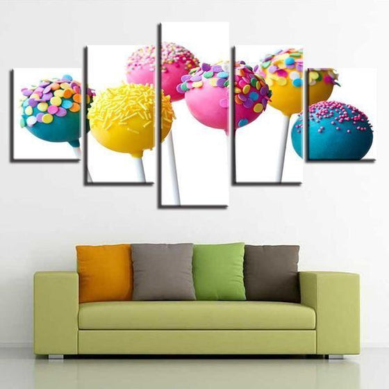 Food Canvas Wall Art Idea