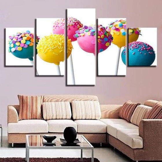 Food Canvas Wall Art Print