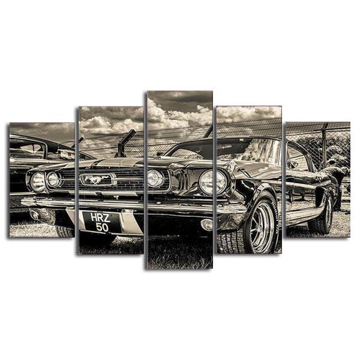 1965 Ford Mustang Canvas Art