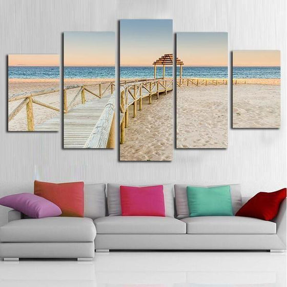 Framed Beach Wall Art Ideas