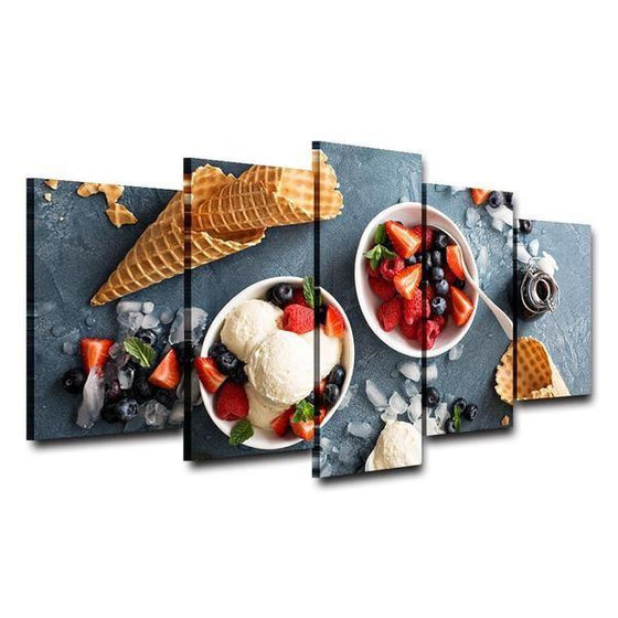 Framed Fruit Wall Art Decors