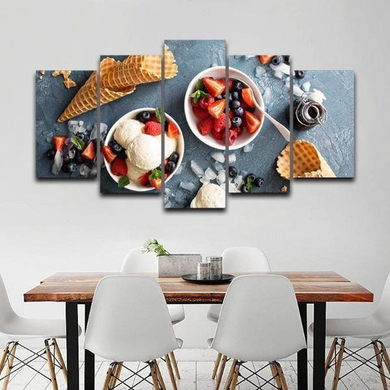 Framed Fruit Wall Art