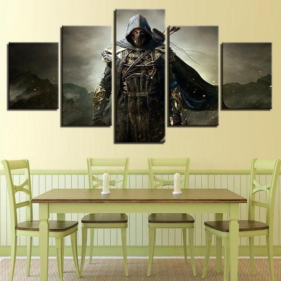 God Steal Inspired Canvas Wall Art Dining Room