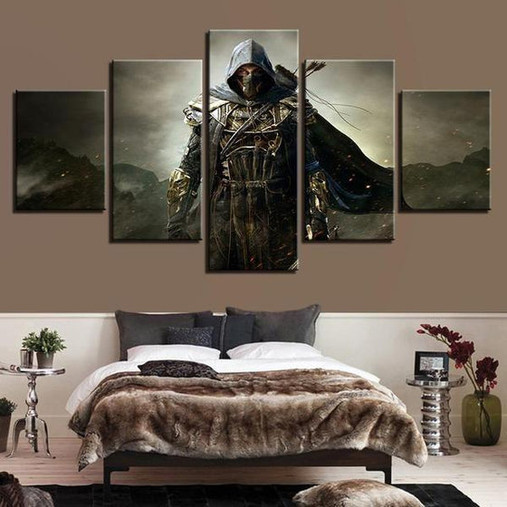 God Steal Inspired Canvas Wall Art Bedroom