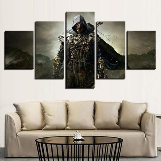 God Steal Inspired Canvas Wall Art Living Room