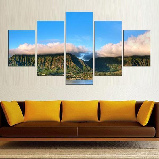 Framed Nature Wall Art Canvas