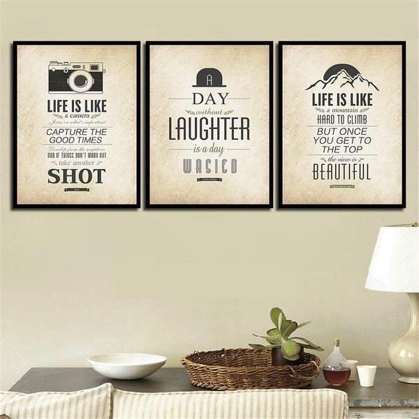 Classic Life Is Like Quote Canvas Wall Art — canvasx.net