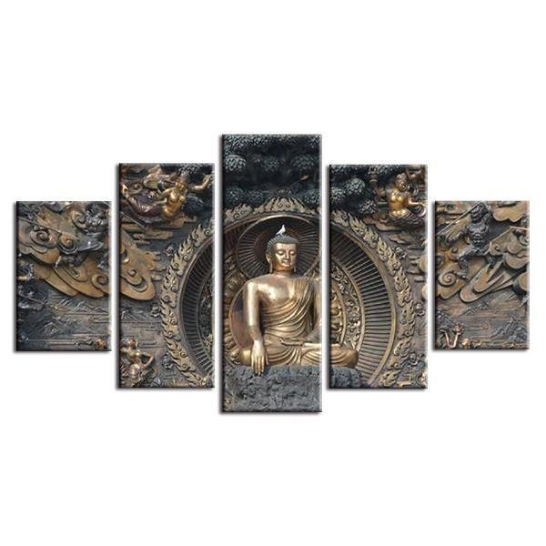 Gautama Buddha Canvas Wall Art