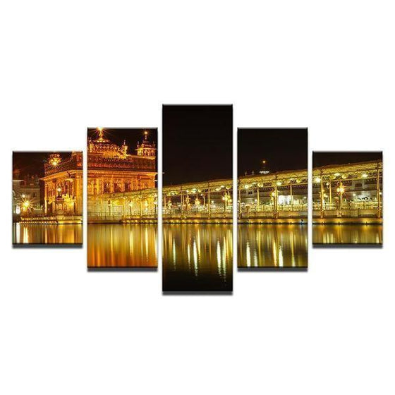 Golden Temple, Amritsar India Canvas Wall Art
