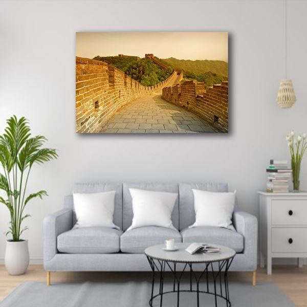 Great Wall Of China 1 Panel Canvas Art