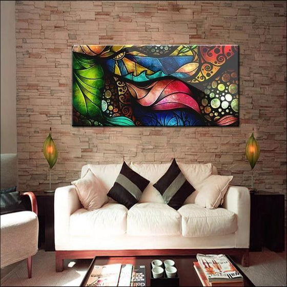 Hand Painted Modern Wall Art