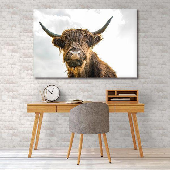 Highland Cattle Canvas Wall Art Decor