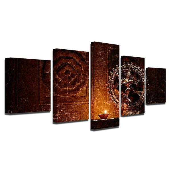 Hindu God Wall Art Canvases