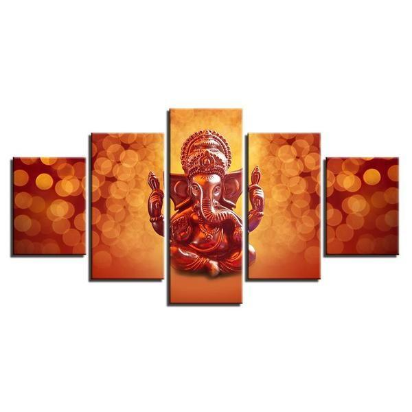 Hindu Temple Wall Art Canvases