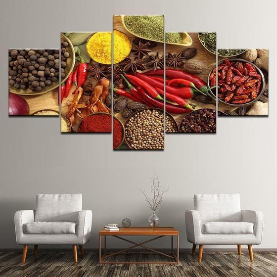 Indian Spice Wall Art Decor