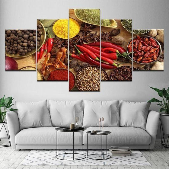 Indian Spice Wall Art Decors