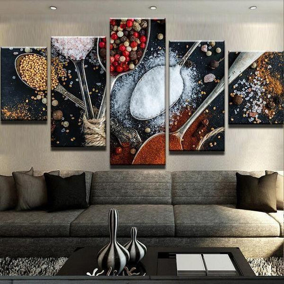 Indian Spice Wall Art Ideas