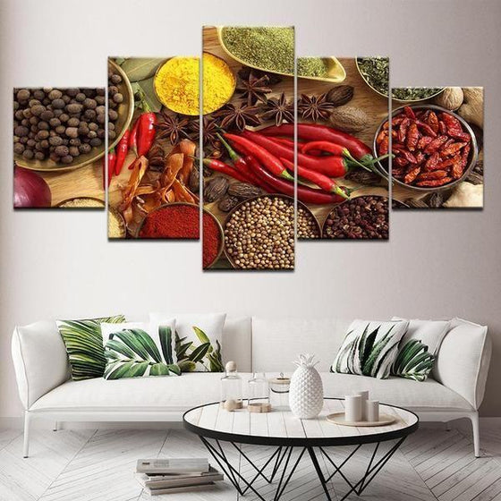 Indian Spice Wall Art