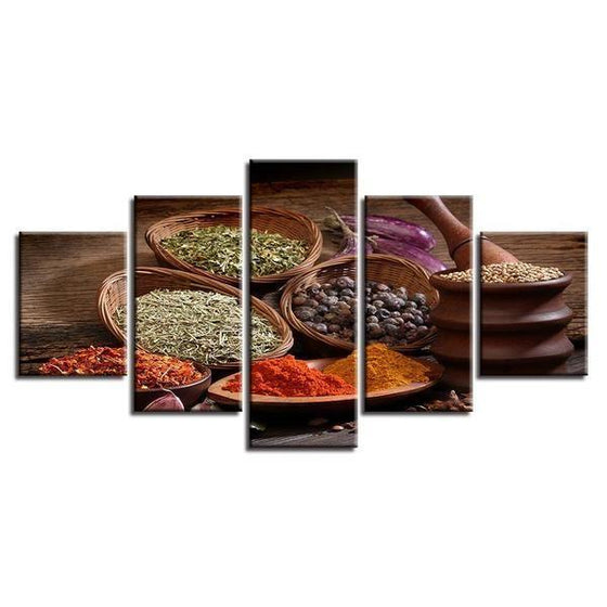 Indian Spices Wall Art Decors