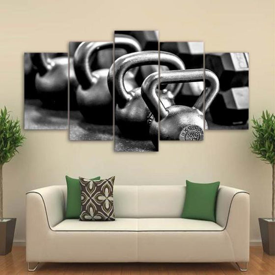 Kettle Bells Wall Art