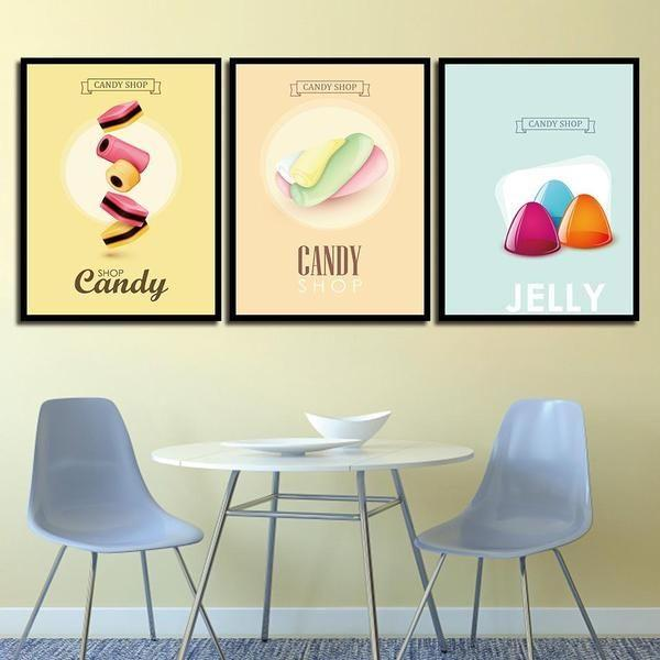 All Time Favorite Sweets Canvas Wall Art — canvasx.net