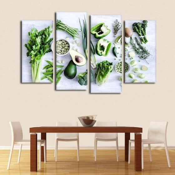 Kitchen Wall Art With Fruit Canvas
