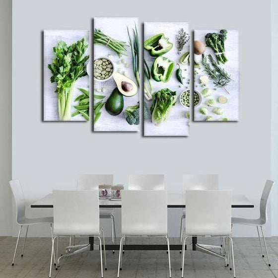 Kitchen Wall Art With Fruit Decor
