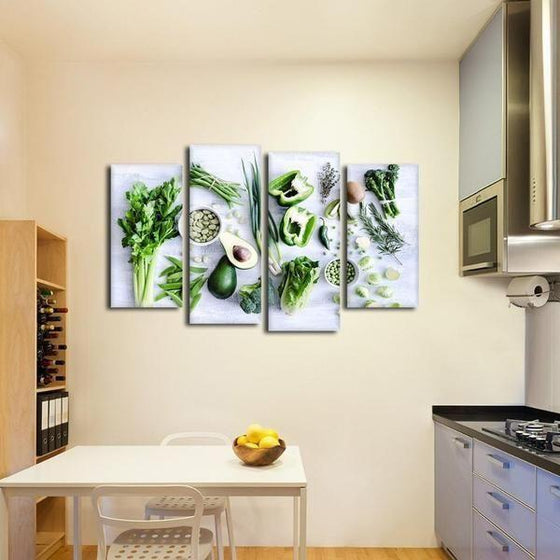 Kitchen Wall Art With Fruit Decors
