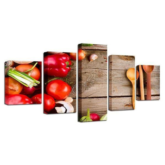 Kitchen Wall Art With Fruit Prints