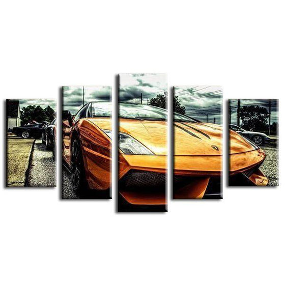 Lamborghini Gallardo Canvas Wall Art