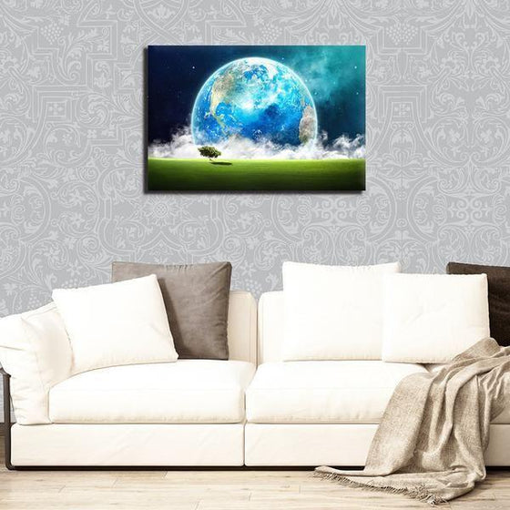 Landscape Overlooking Earth Wall Art Decors