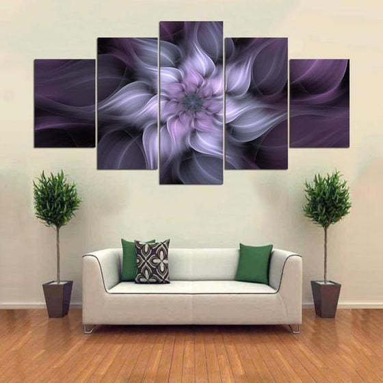 Large Metal Flowers Wall Art Prints