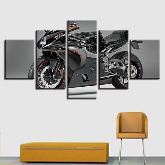 Large Motorcycle Wall Art Canvases