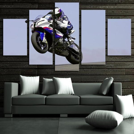 2016 BMW R 1200 RS Canvas Wall Art Living Room