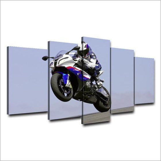 2016 BMW R 1200 RS Canvas Wall Art Prints