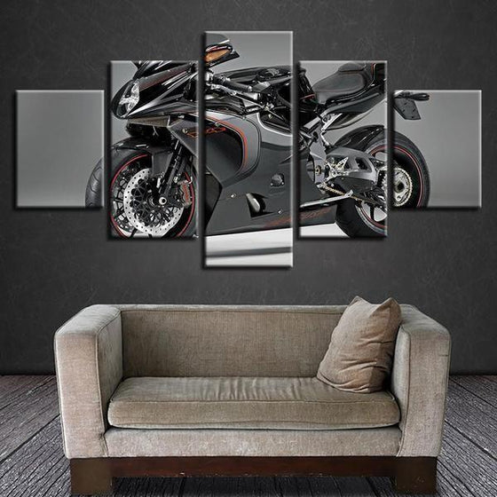 Large Motorcycle Wall Art