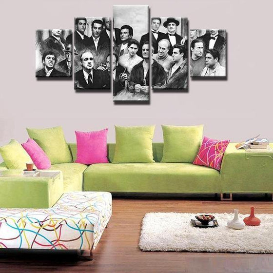 Retro Movie Characters Inspired Canvas Wall Art Ideas