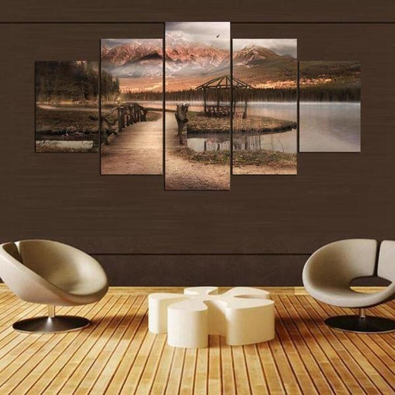Large Wall Art Nature Canvas