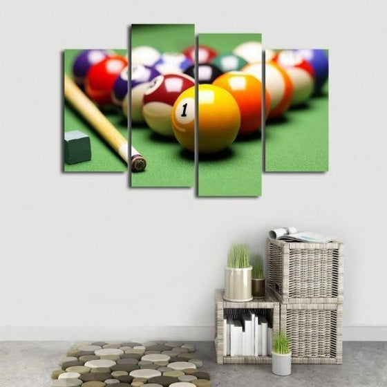 Pool Billiards Canvas Wall Wall Art Nursery