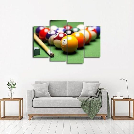 Pool Billiards Canvas Wall Wall Art Decor