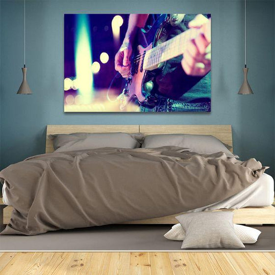 Lead Electric Guitar Canvas Wall Art Bedroom