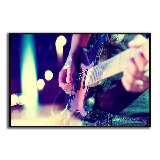 Lead Electric Guitar Canvas Wall Art Decor