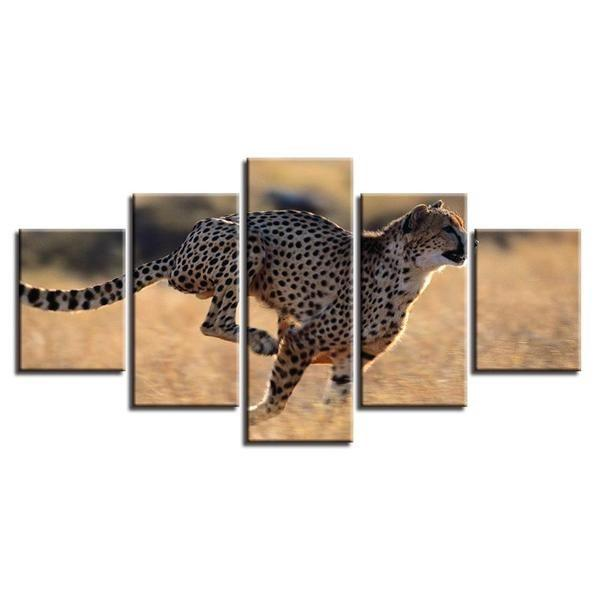 Leopard Metal Wall Art Decors